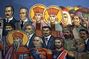 Freska Draza Mihailovic Crkva Svetog Kralja Jovovana Vladimira Foto Milena Đorđević