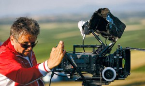 Rado Bajic directing outdoors