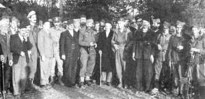 Draža Mihailović sa muslimanima u okolini Doboja