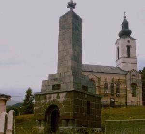 Spomen kosturnica i Crkva u Strpcima